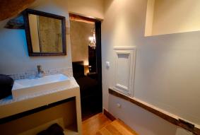 Manoir de la Villeneuve salle de bain