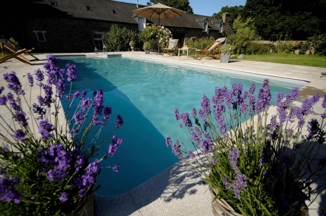 la piscine chambres dhtes avec piscine en bretagne - Chambre D Hote Avec Piscine