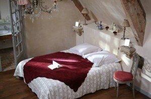 Chambre d'hôtes jardin d'Adélaïde chambre