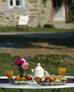 gite ville neuve petit dejeuner