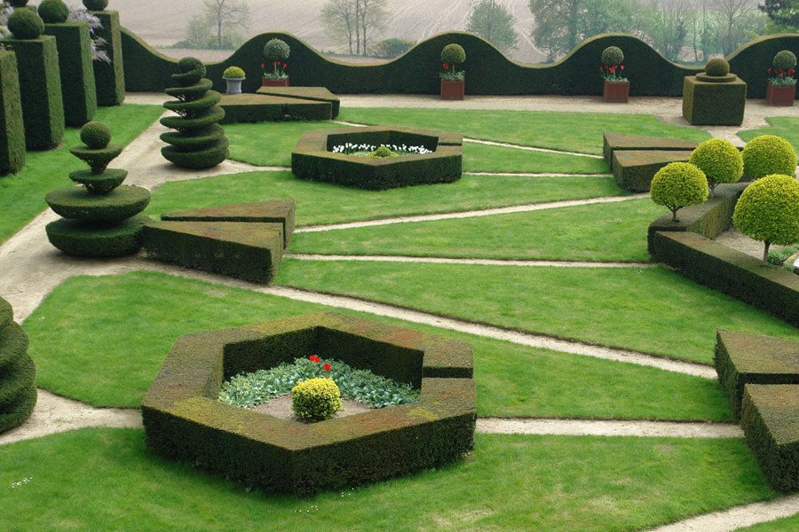 jardin chateau de la ballue