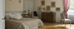 Chambre Mademoiselle Manoir de la Villeneuve