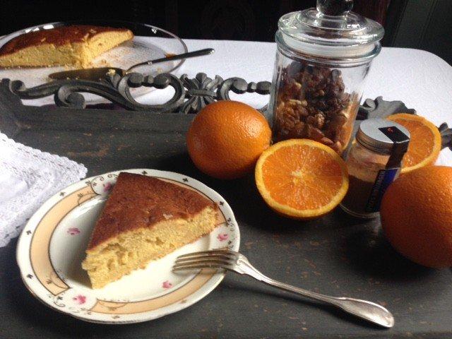 Cakes à l'orange