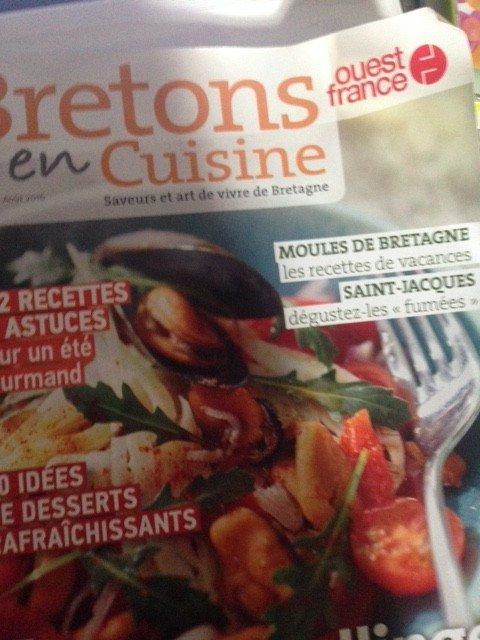 Bretons en Cuisine , Editions Ouest france