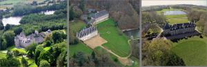 Images aériennes Manoir de la Villeneuve