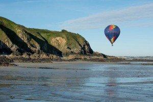 Bretagne en montgolfière