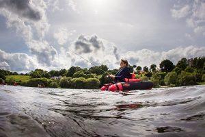 découvrezPeche à la ligne en float tuble à jugon- les lacs