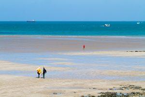 Partir à la pêche à pied pendant les grandes marées