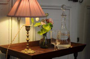 Chambre de Mademoiselle , ambiance decoration bouquet de fleur