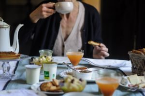 présentation de petit déjeuners,