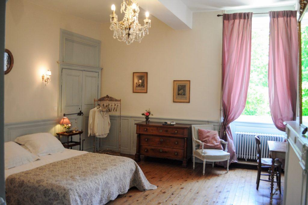 Vue d'ensemble de la chambre de Mademoiselle
