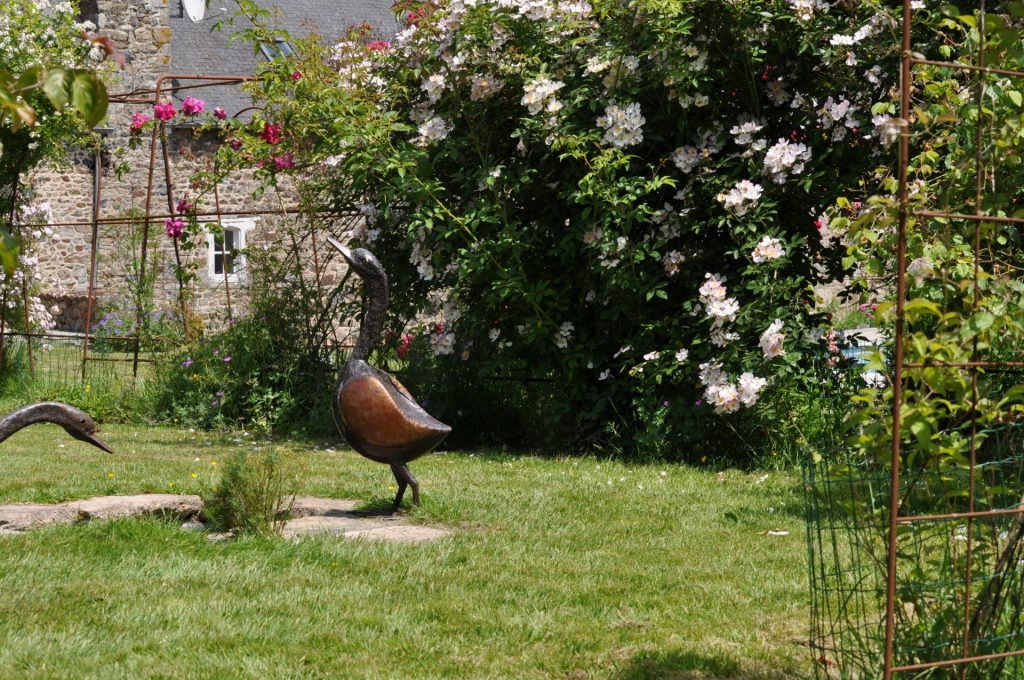 jardin manoir dela Villeneuve